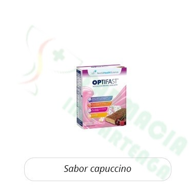 OPTIFAST BARRITAS CAPUCHINO 6 BARRITAS