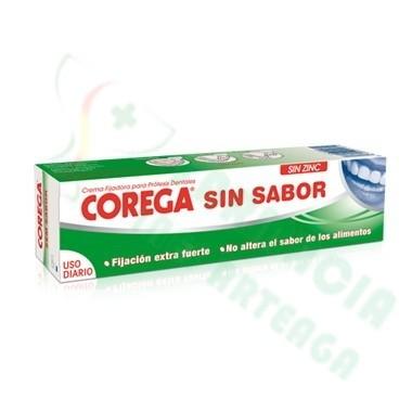 CREMA EXTRA FUERTE SIN SABOR ADHESIVO PROTESIS DENTAL COREGA 40 ML