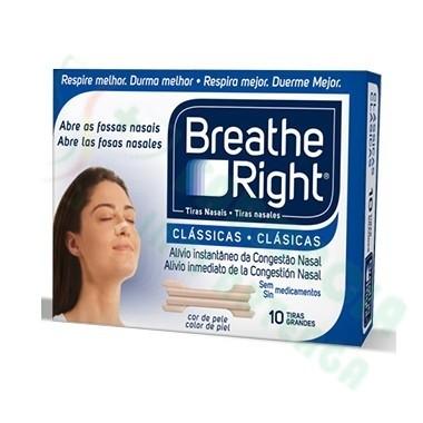 BREATHE RIGHT TIRA NASAL T- PEQ-MED 10 U