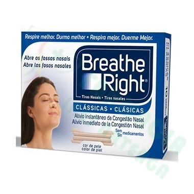 TIRA NASAL T- GRANDE BREATHE RIGHT 30 UNIDADES