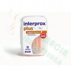 CEPILLO DENTAL INTERPROXIMAL INTERPROX PLUS SUPER MICRO 6 U