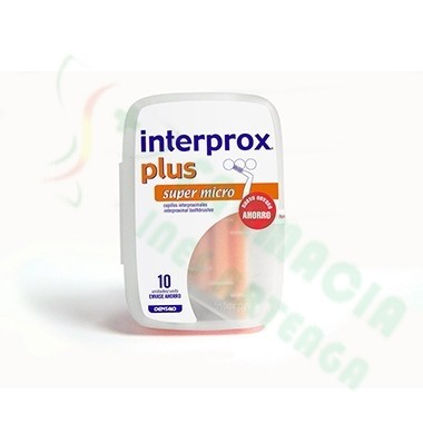 CEPILLO DENTAL INTERPROXIMAL INTERPROX PLUS SUPER MICRO 6 U