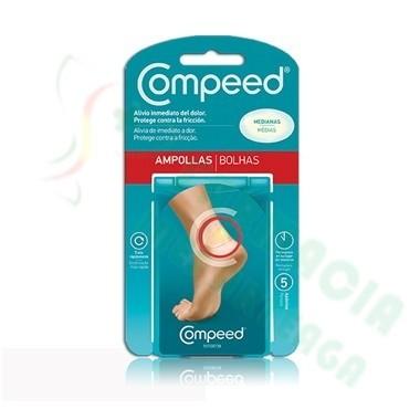 COMPEED AMPOLLAS HIDROCOLOIDE T- MED 5 U