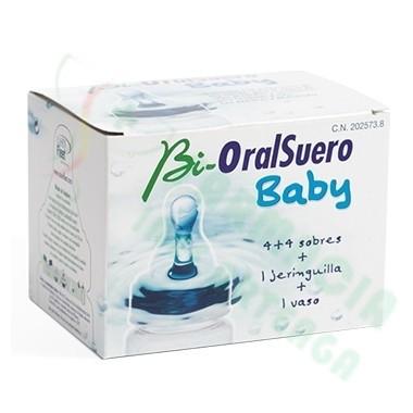 BIORALSUERO BABY 4 SOBRES
