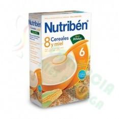 NUTRIBEN 8 CEREALES Y MIEL EFECTO BIFIDUS 600 G