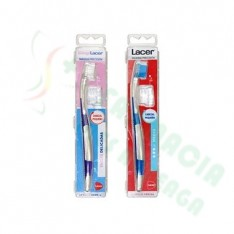 CEPILLO DENTAL ADULTO LACER CABEZAL PEQUEÑO MEDIUM