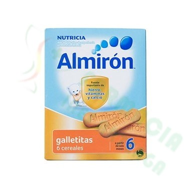 ALMIRON GALLETITAS ADVANCE NUEVO PACK 6 CEREALES 180 G