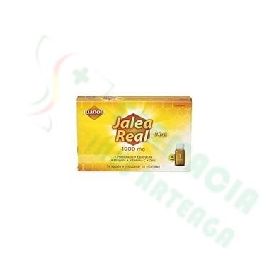 JUANOLA JALEA REAL PLUS (1000 mg., 14 viales)