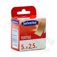 ESPARADRAPO SALVELOX TEXTIL CARNE 5 X 2,5