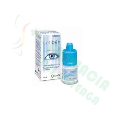 GOTAS SEQUEDAD OCULAR OPTIBEN 10 ML