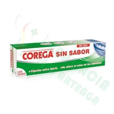 CREMA EXTRA FUERTE SIN SABOR ADHESIVO PROTESIS DENTAL COREGA 75 ML