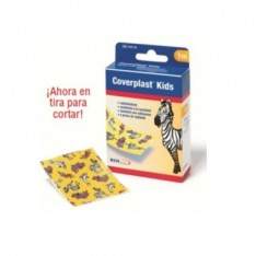 COVERPLAST KIDS APOSITO ADH IMPERMEABLE 1 M X 6 CM