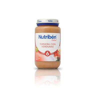 NUTRIBEN TERNERA CON VERDURA 250GR