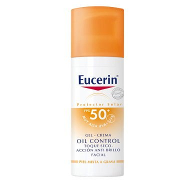EUCERIN SUN PROTECTION 50+ GEL CREME ROSTRO OIL CONTROL 50 ML