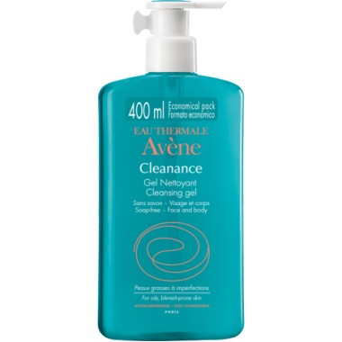 GEL LIMPIADOR CLEANANCE AVENE 400 ML