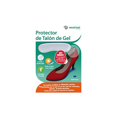 PROTECTOR DE TALON MEDILAST DE GEL