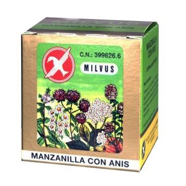 MANZANILLA CON ANIS MILVUS 1.2 G 10 FILTROS