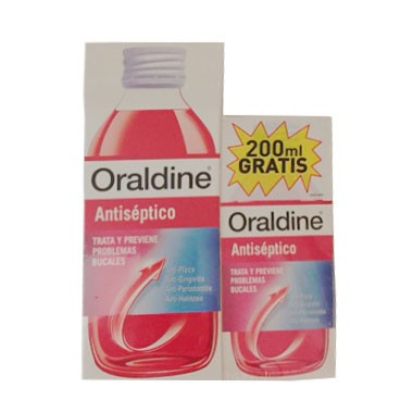 ORALDINE ANTISEPTICO 400 ML+ 200 ML GRATIS