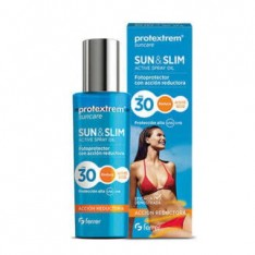 FOTOPROTECTOR SUN & SLIM ACTIVE SPRAY OIL FPS 30 PROTEXTREM 200 ML