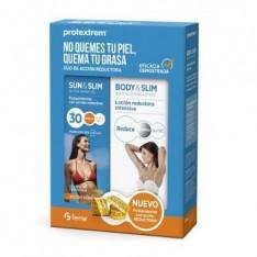 FOTOPROTECTOR PACK SLIM SUN & SLIM ACTIVE + + BODY & SLIM NUTRITIVE CREAM PROTEXTREM 200 ML + 150 ML