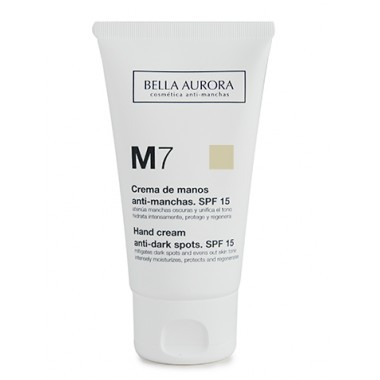 CREMA DE MANOS ANTI MANCHAS SPF 15 BELLA AURORA 75ML
