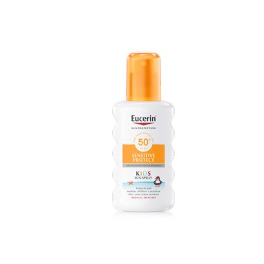 EUCERIN FOTOPROTECTOR SUN SPRAY KIDS SENSITIVE PROTECT 50+ SUN PROTECTION 200 ML + REGALO KIDS SUN FLUID 50 ML