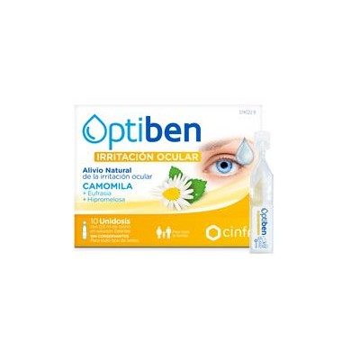OPTIBEN OJOS IRRITADOS ESTERIL SEQUEDAD OCULAR FRASCO 15 ML