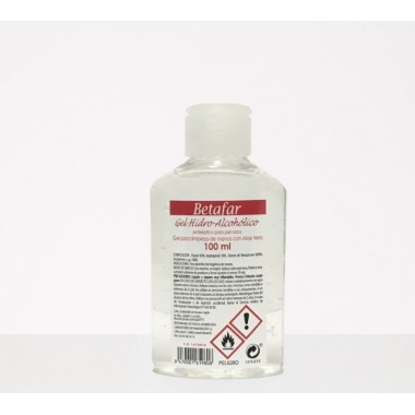 GEL HIDROALCOHOLICO BETAFAR 100 ML