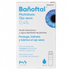 BAÑOFTAL MULTIDOSIS OJO SECO 0.4% 10 ML