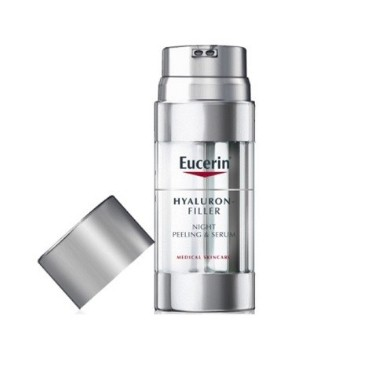 EUCERIN SERUM FACIAL PEELING & SERUM NOCHE HYALURON FILLER 30 ML