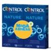 CONTROL NATURE PRESERVATIVOS PACK 12+12 UNIDADES
