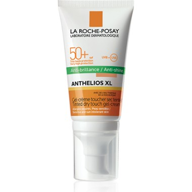 FOTOPROTECTOR GEL CREMA TOQUE SECO CON COLOR ANTHELIOS SPF 50+ LA ROCHE POSAY 50 ML