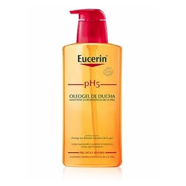 OLEOGEL DE DUCHA PIEL SENSIBLE EUCERIN PH-5 200 ML