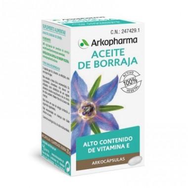 BORRAJA ACEITE ARKOPHARMA 50 CAPSULAS