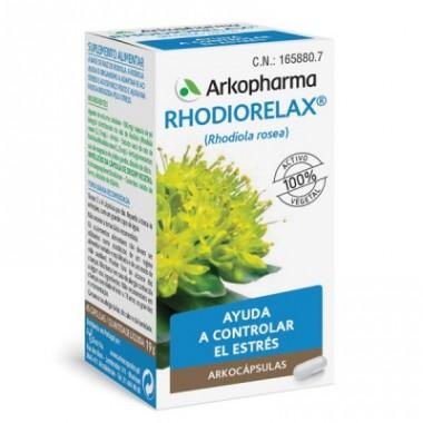 RHODIORELAX ARKOPHARMA RELAJACION 45 CAPS
