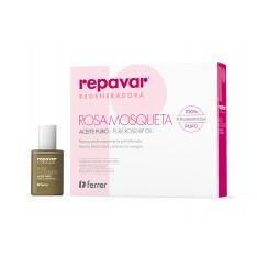 REPAVAR ACEITE PURO DE ROSA MOSQUETA REGENERADORA 15 ML (+ BALSAMO LABIAL DE REGALO)