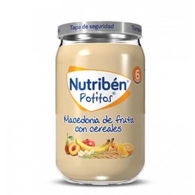 POTITO MACEDONIA DE FRUTA CON CEREALES NUTRIBEN 235 G
