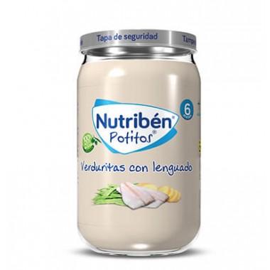 POTITO VERDURITAS CON LENGUADO NUTRIBEN GRANDOTE 235 G