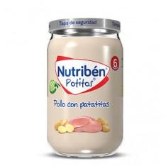POTITO POLLO CON PATATITAS NUTRIBEN GRANDOTE 235 G
