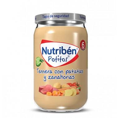 POTITO TERNERA CON PATATAS Y ZANAHORIAS NUTRIBEN GRANDOTE 235 G