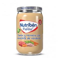 POTITO JAMON Y TERNERA CON MENESTRA DE VERDURAS NUTRIBEN GRANDOTE 235 G