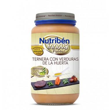 POTITO TERNERA CON VERDURAS DE HUERTA NUTRIBEN INNOVA GRANDOTE 250 G
