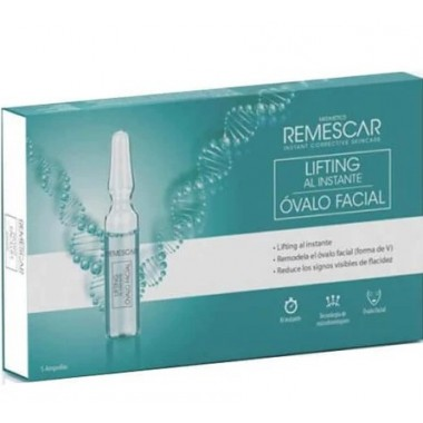 REMESCAR AMPOLLAS LIFTING AL INSTANTE OVALO FACIAL 5 AMPOLLAS