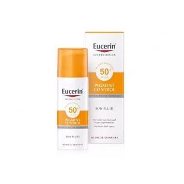 EUCERIN SUN PROTECTION FOTOPROTECTOR FLUID SPF 50+ PIGMENT CONTROL 50 ML