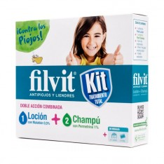 PACK FILVIT LOCION 100 ML + CHAMPU ANTIPIOJOS 100 ML