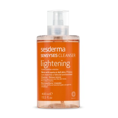 SESDERMA SENSYSES CLEANSER LIGHTENING DESMAQUILLANTE 400 ML (LIMPIADOR FACIAL)