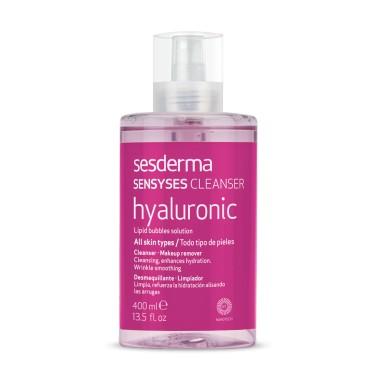 SESDERMA SENSYSES CLEANSER HYALURONIC DESMAQUILLANTE 400 ML (LIMPIADOR FACIAL)