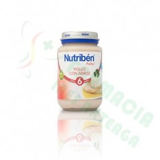 NUTRIBEN POLLO CON ARROZ POTITO JUNIOR 200 G