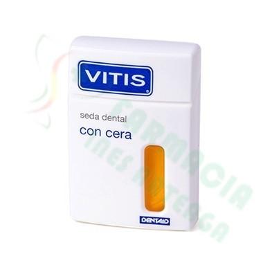 VITIS SEDA DENTAL CON CERA 50 M