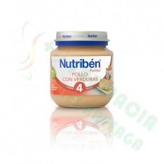 NUTRIBEN POLLO CON VERDURAS POTITO DE INICIO 130 G